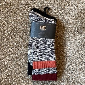 NEW LISTING Two pairs of Frye boot socks